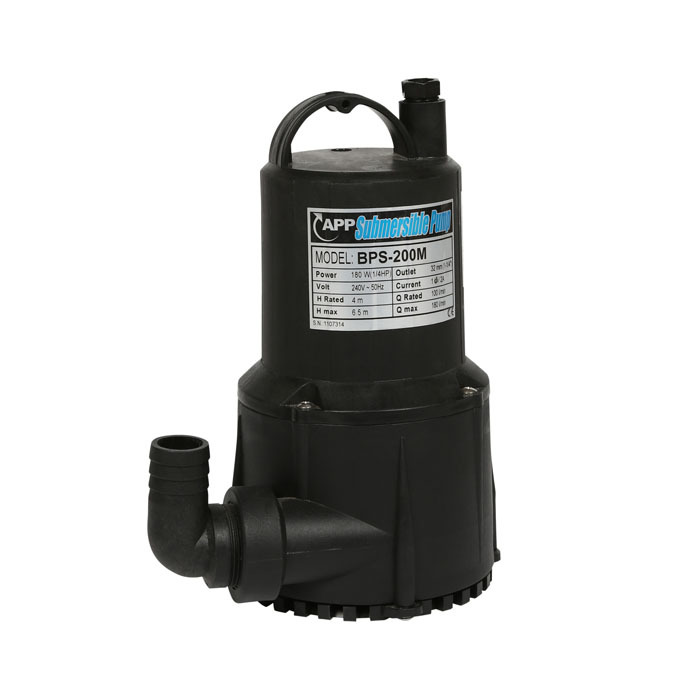 View Photo: Sparkle Pumps BPS-200 Manual Submersible Pump 140 L/Min, 7m Lift $253