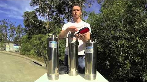 Watch Video: Household Water High Pressure Submersible Pumps