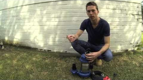 Watch Video: Submersible Drainage Water Pumps Overview | KS