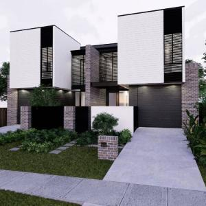 View Photo: Our most recent Concept Design for a Dual Occupancy Development.