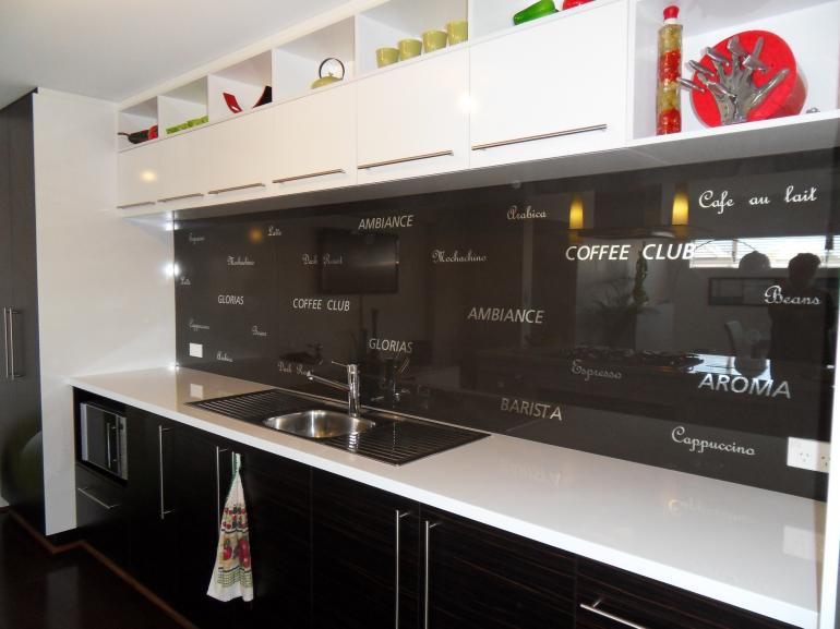 View Photo: Namadji Splashback with lettering