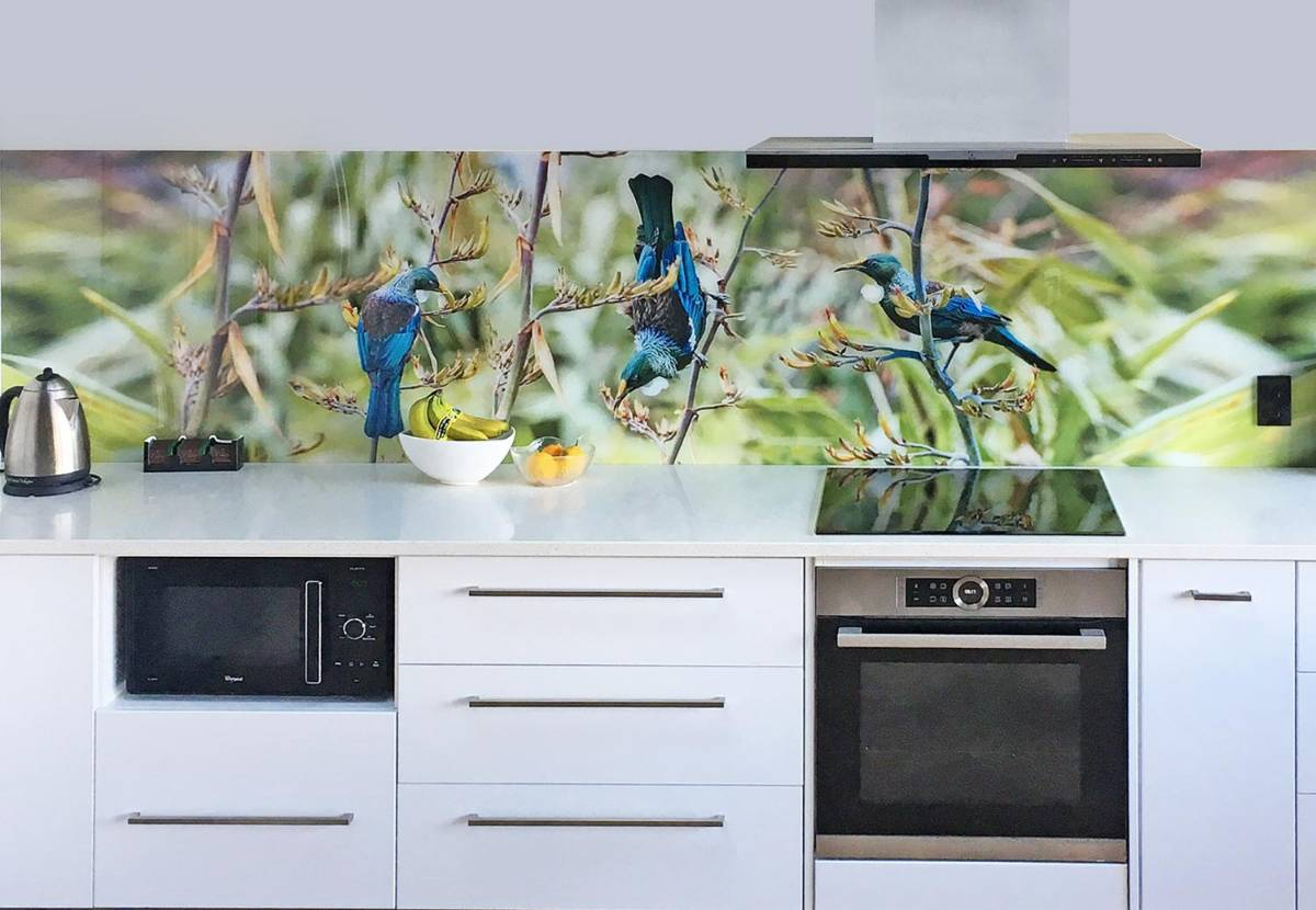 View Photo: Nature Digitally Printed Glass Splashback