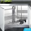 How To Maximise Kitchen Space Utilisation - Part 1. Corner Cabinet / Magic Corner I