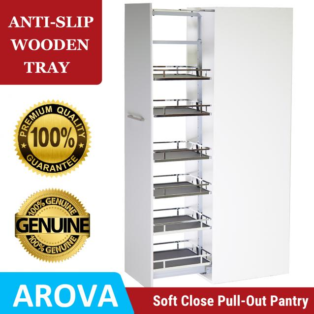Read Article: Pull Out Pantry - Anti-Slip Wooden Trays