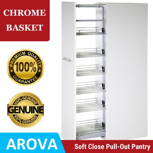 Read Article: Pull Out Pantry - Chrome Baskets