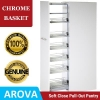 Pull Out Pantry - Chrome Baskets