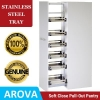 Pull Out Pantry - Stainless Steel Trays