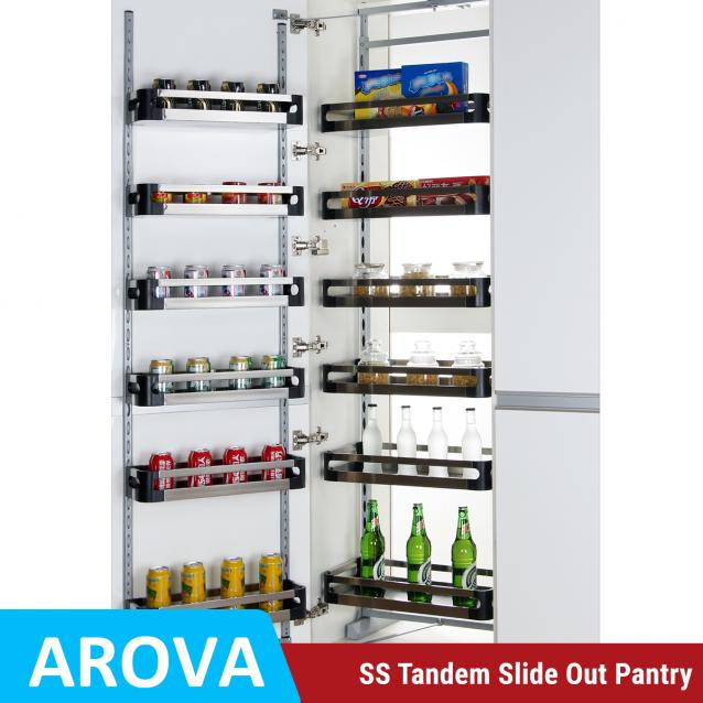 Read Article: Tandem Pantry - Stainless Steel Trays