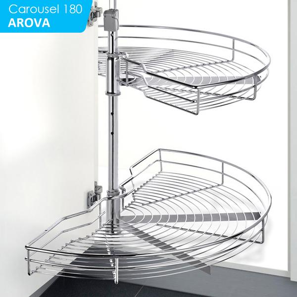180 Degree Rotating Wire Basket