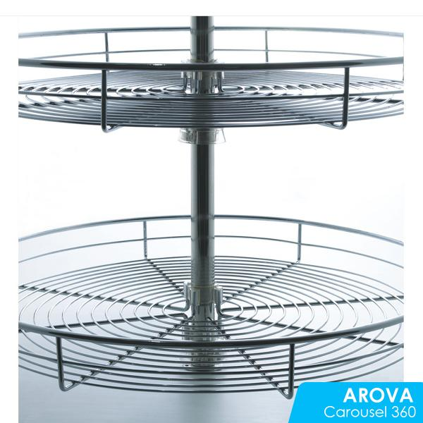 360 Degree Rotating Wire Basket