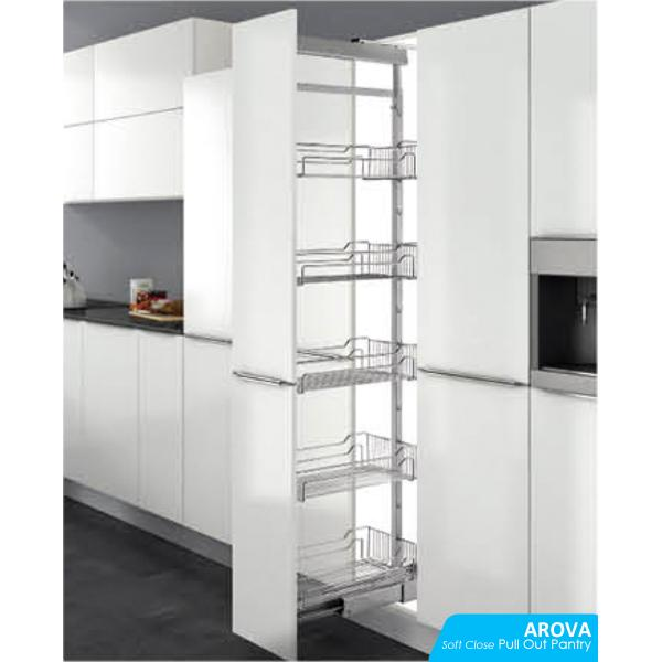 Soft Close Pull Out Pantry Unit
