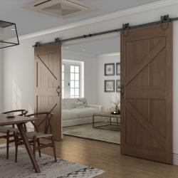 View Photo: Sliding Barn Door D05 / Hardware Kit BB08