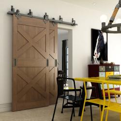 View Photo: Sliding Barn Door D08/ Hardware Kit BB06 Bypass