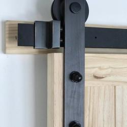 View Photo: Sliding Barn Door Hardware Kit BB02D