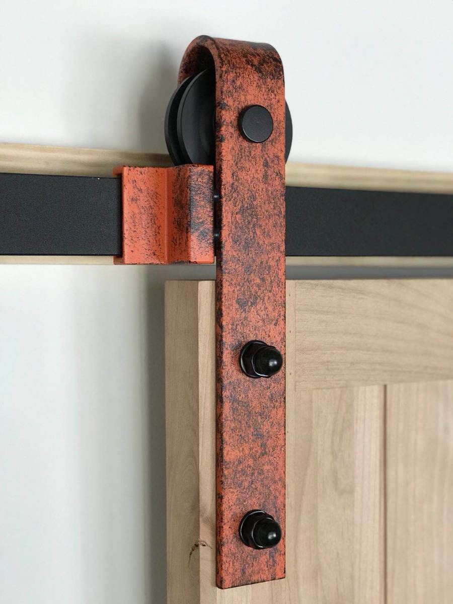 View Photo: Sliding Barn Door Hardware Kit BB02R