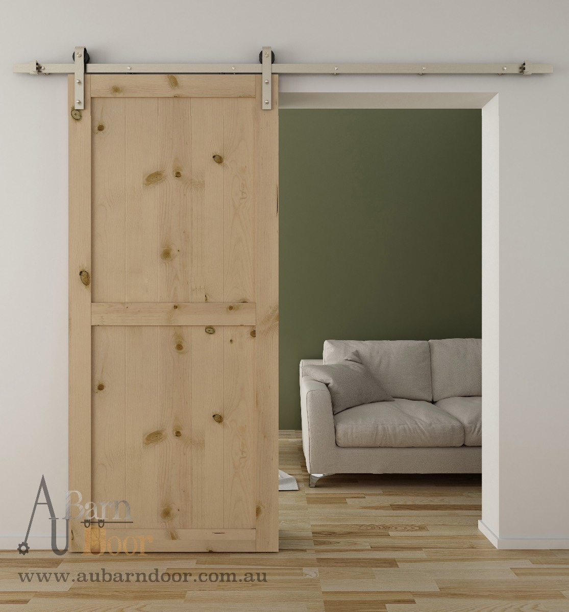 Sliding Barn Door Hardware Kit SS01