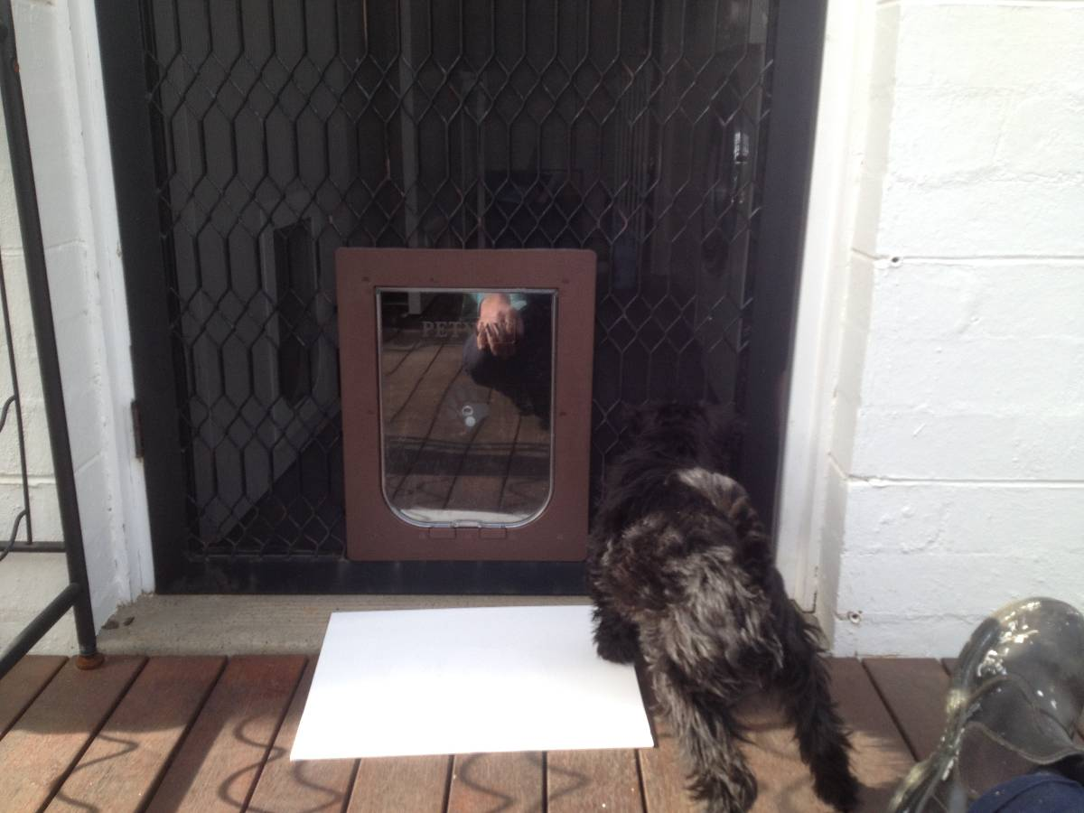 View Photo: Security door, no issue.