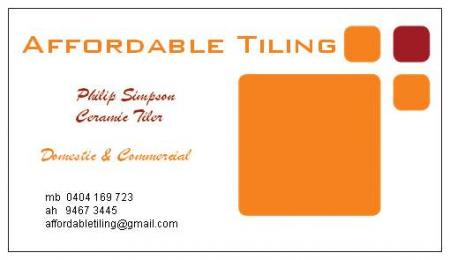 Affordable Tiling