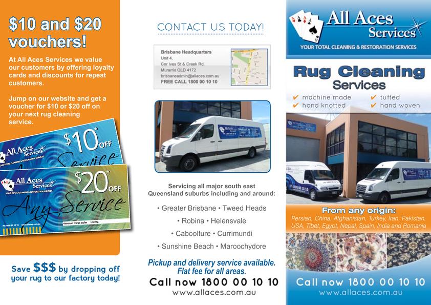 Browse Brochure: Rug Cleaning Brisbane Brochure