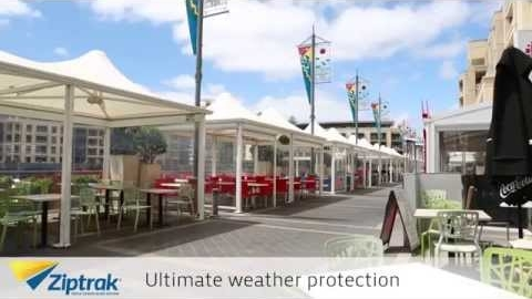 Watch Video: All Weather Blinds - PVC Outdoor Blinds by Ziptrak