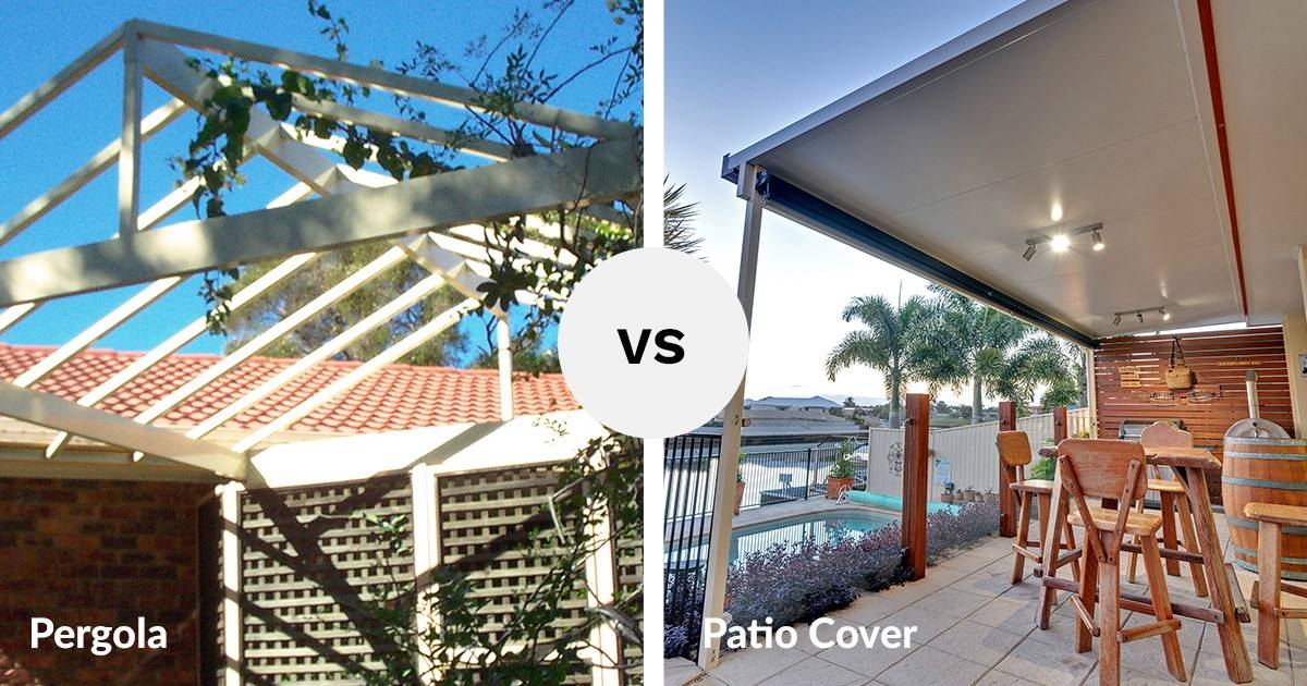 View Photo: Do I want a patio cover or a pergola?