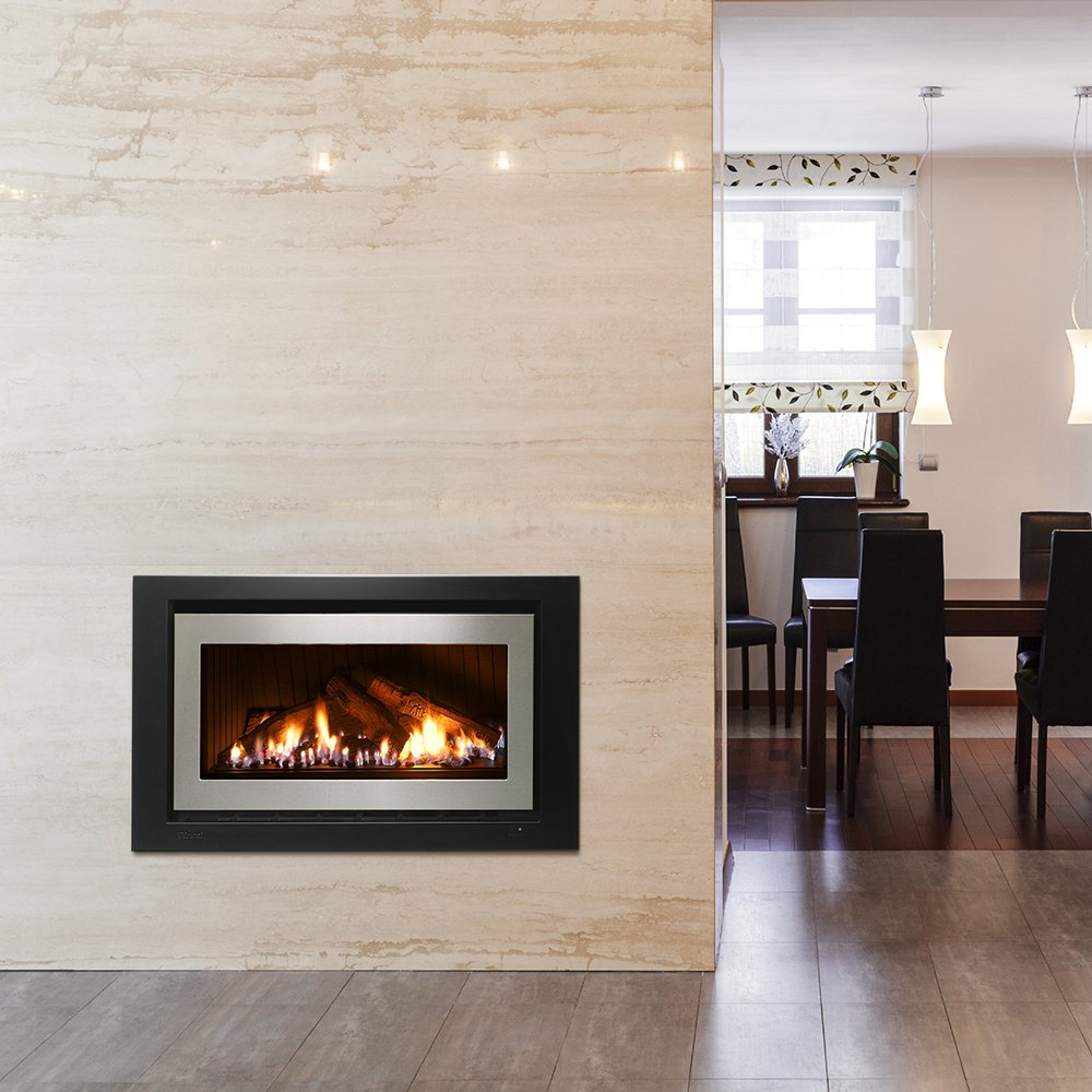 Natural Gas Log Fireplace