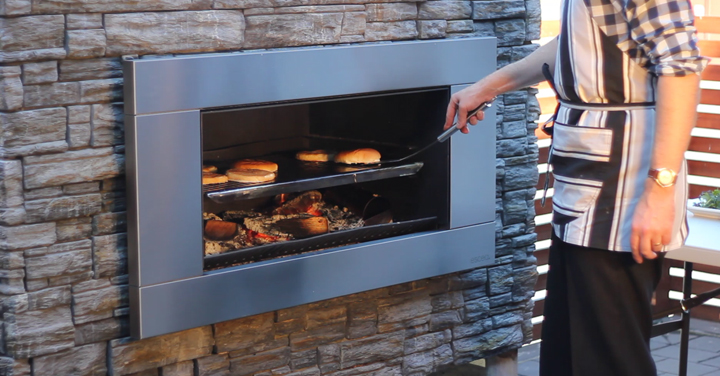 View Photo: Outdoor Food Fireplace Oven