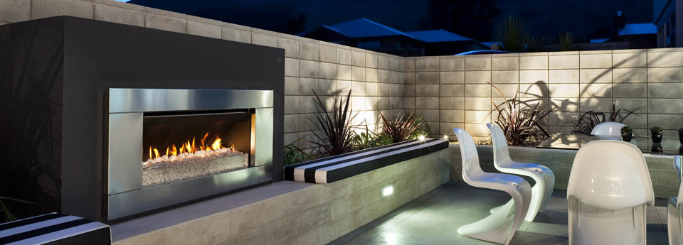 View Photo: Outdoor Gas Fireplace