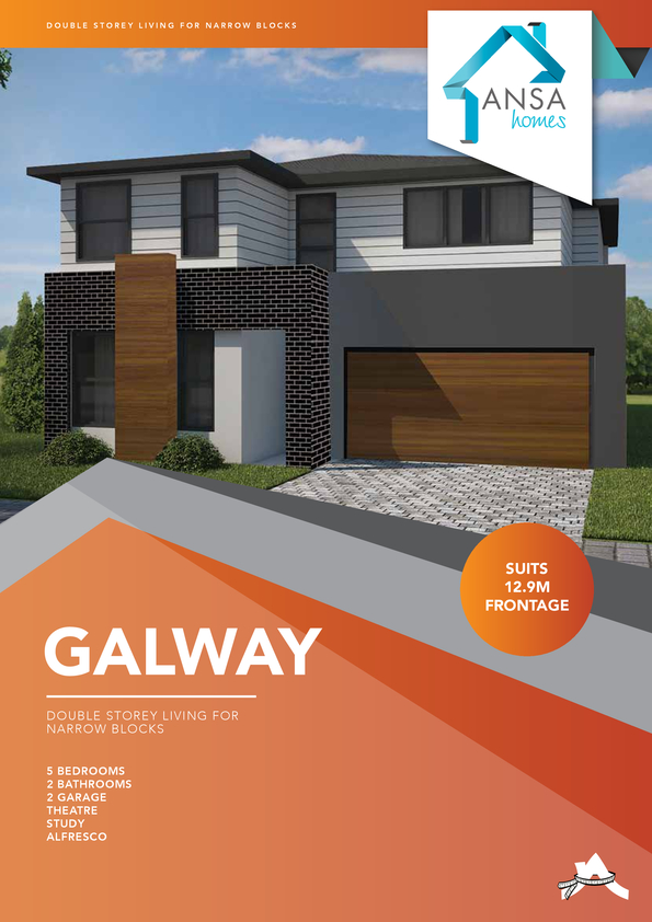 Browse Brochure: GALWAY - Exudes modern warmth