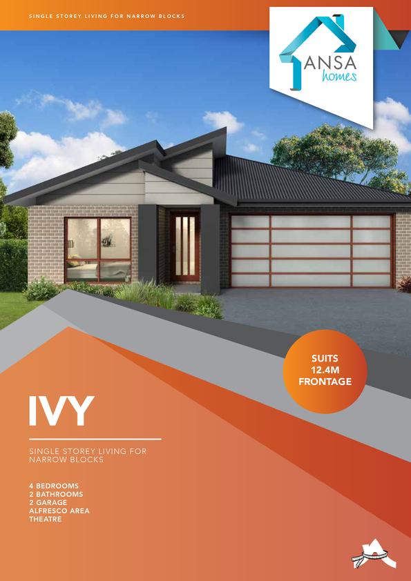 Browse Brochure: Ivy- Narrow Block Design