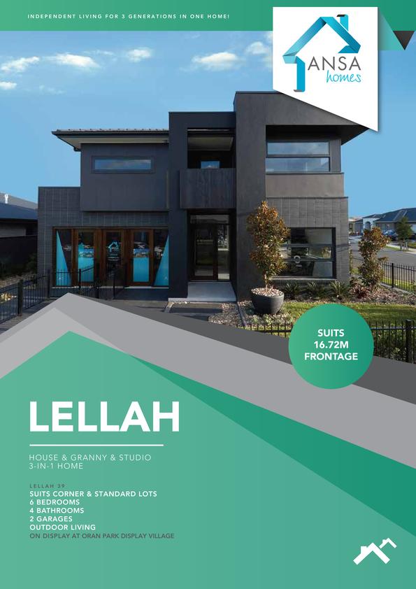 Browse Brochure: LELLAH 39 - House & Granny