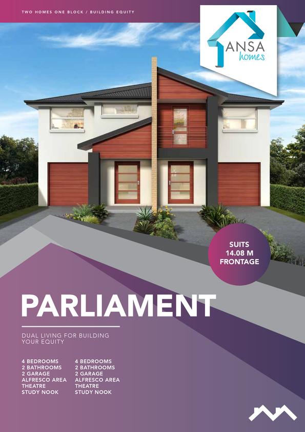 Browse Brochure: PARLIAMENT - Duplex Design