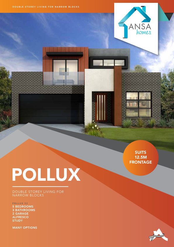 Browse Brochure: POLLUX - Versatile floorplan