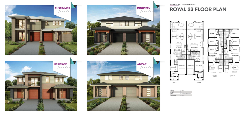Browse Brochure: ROYAL - Duplex Design