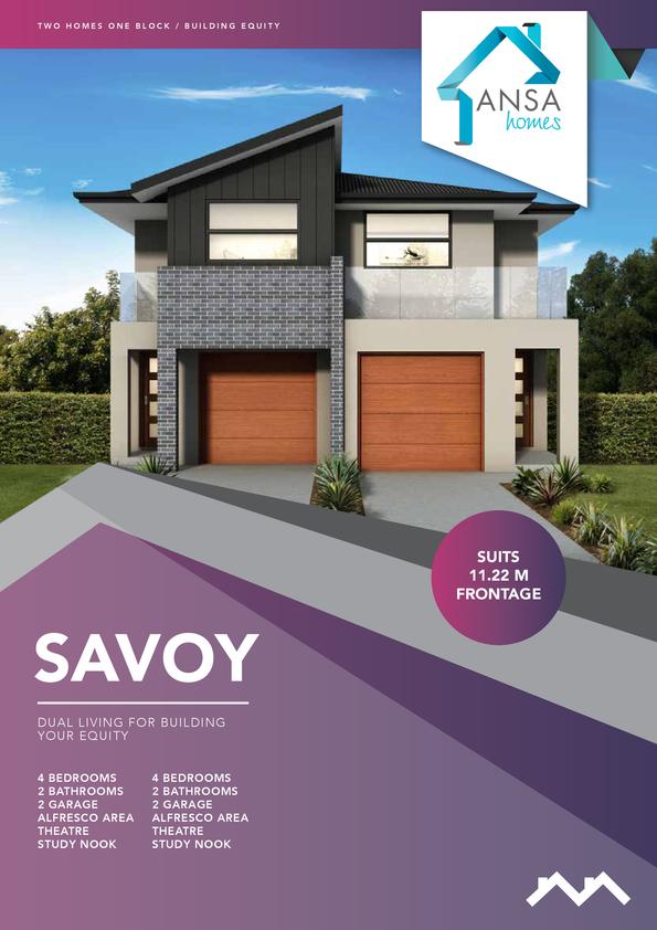 Browse Brochure: SAVOY-Duplex Design