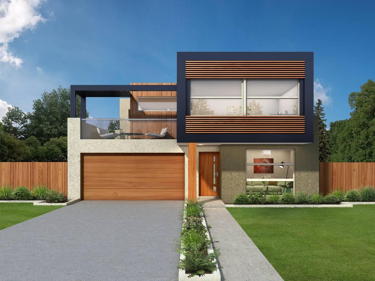 View Photo: AUSTINMERE Facade - Archer Narrow Block Design