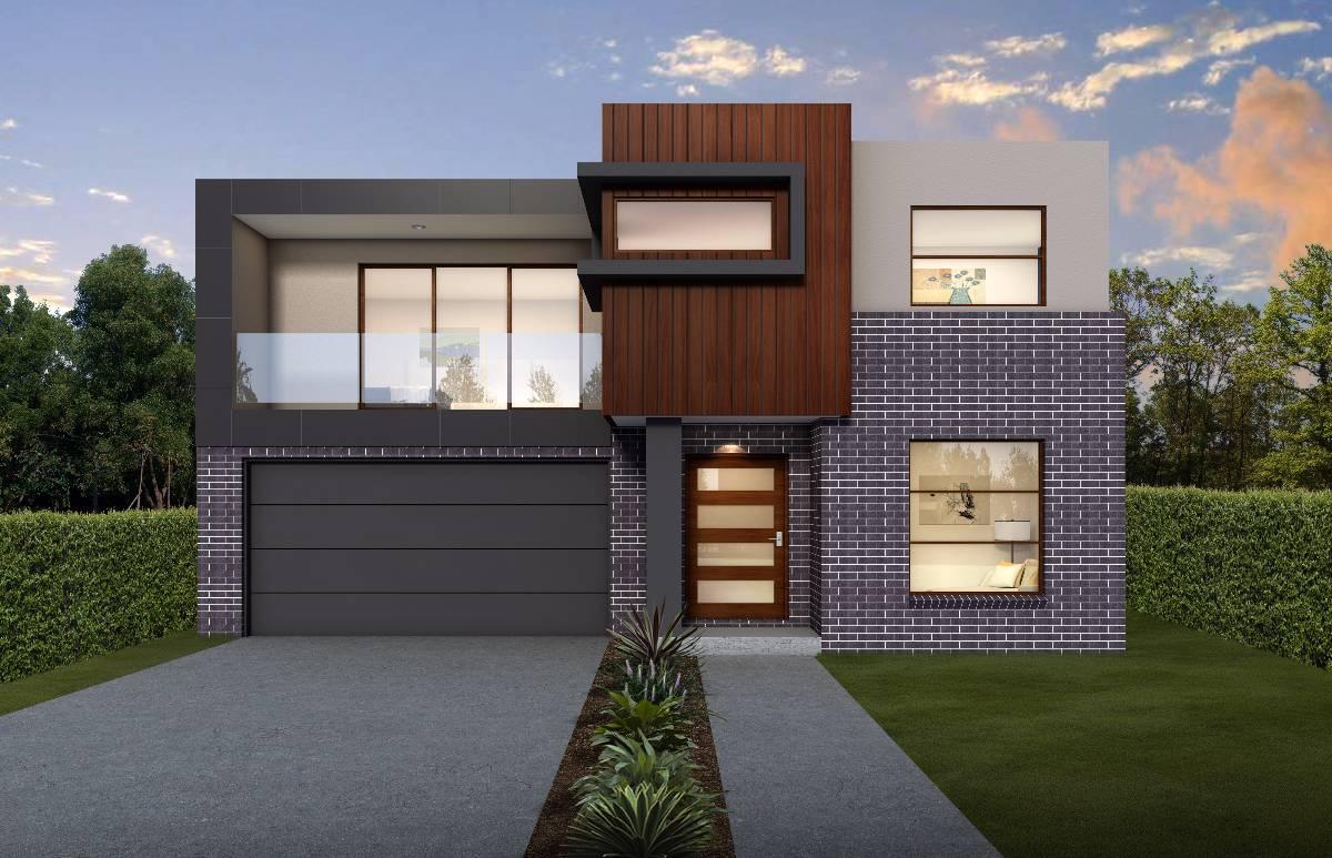 WATERBURY Facade - ASTAIRE 30 Narrow Block Design