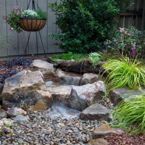 View Photo: Small Pondless Waterfall