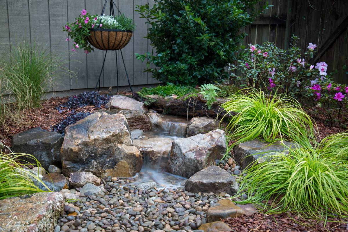 View Photo: Small Pondless Waterfall