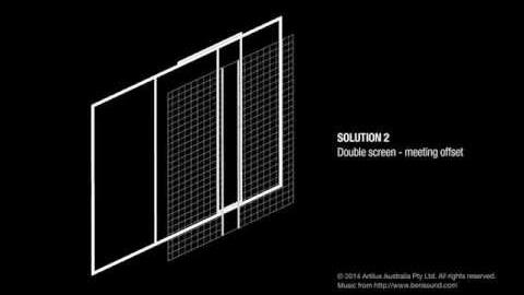 Watch Video: Screening Solutions for Stacker Doors