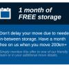 1 month free storage