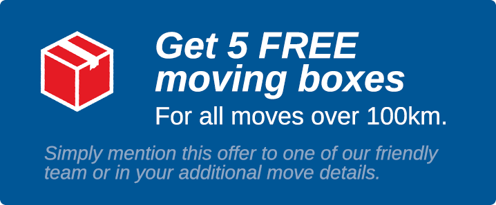 View Photo: 5 Free Moving Boxes