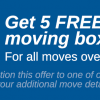 5 Free Moving Boxes