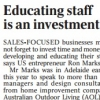 Read Article: Educating Staff is an Investment