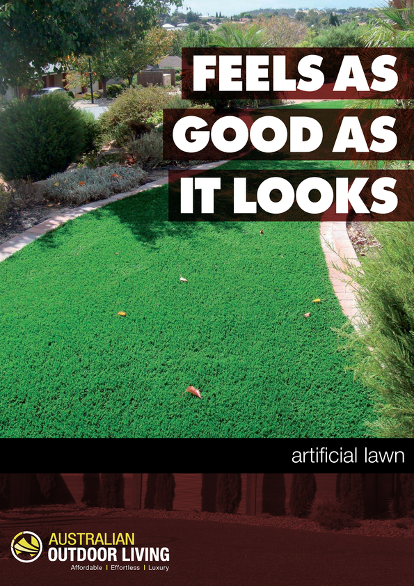 View Brochure: Artificial Lawn Brochure