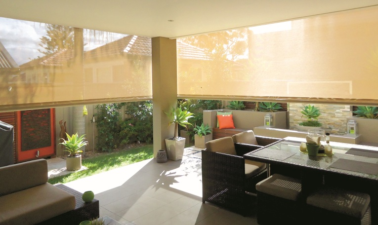 Australian Outdoor Living's Bella Vista Shade Blinds