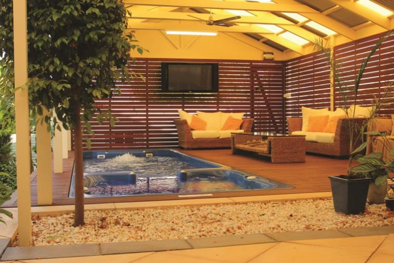 entertainment area photo : australian outdoor living adelaide sa