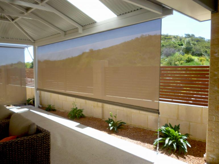 Outdoor Shade Blinds Photo Australian Outdoor Living Adelaide Sa