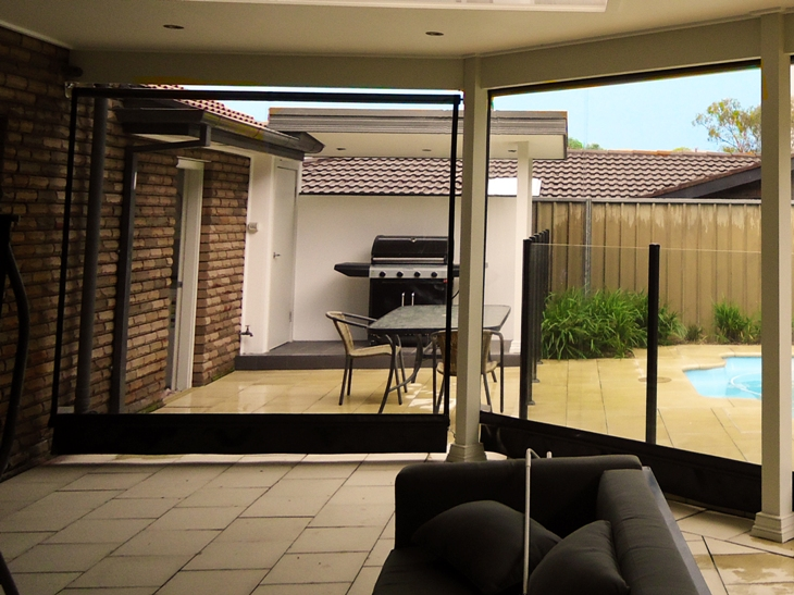 View Photo: PVC Blinds for Entertaining All Year Round