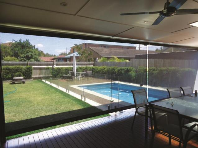 View Photo: Swimming Pool and Outdoor Blinds